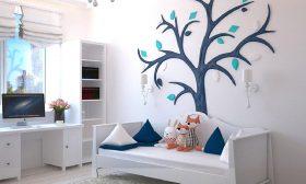 verlichting voor een babykamer