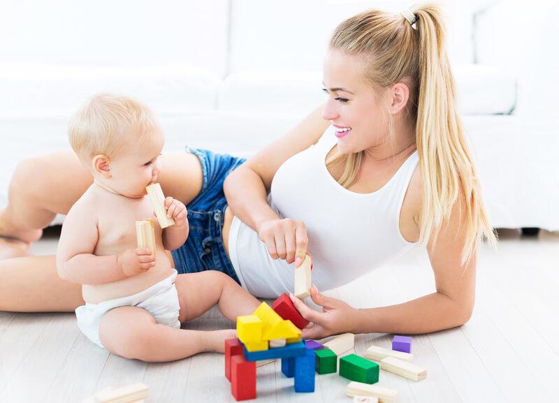 Speelgoed voor babys van 6 maanden