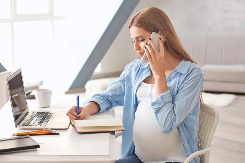 Zwanger en zelfstandig ondernemer