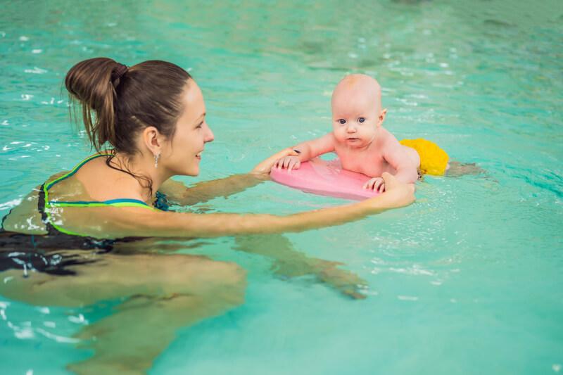 zwembad in tuin en veiligheid